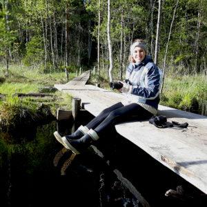 Johanna Lumme Nuuksion maisemissa